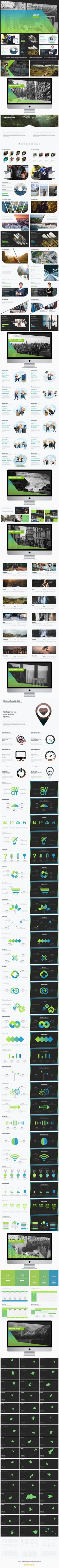 Business Vision - Google Slides Presentation Templates