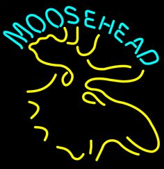 Moose Head Logo Beer Neon Sign, Moosehead Neon Beer Signs & Lights | Neon Beer Signs & Lights. Makes a great gift. High impact, eye catching, real glass tube neon sign. In stock. Ships in 5 days or less. Brand New Indoor Neon Sign. Neon Tube thickness is 9MM. All Neon Signs have 1 year warranty and 0% breakage guarantee.
