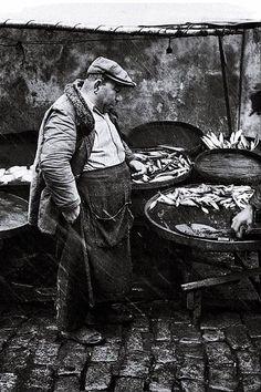 Samatyalı Balıkçı Dikran dayı - 1959 (Ara Güler)