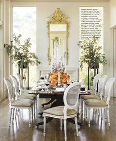 a divine dining room interior designer alex hitz photographer lisa romerein - House Beautiful Dining Rooms