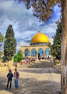 Rock of dome, Jerusalem Palestine