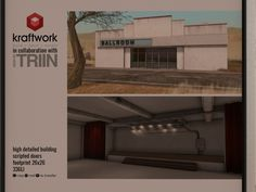 KRAFTWORK & TRIIN - building, 699L