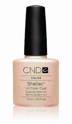 CND Shellac UV Color Coat Iced Coral (0.25oz - 7.3ml)