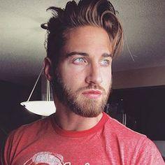 Men's Beard - Short Beard and Long Hair