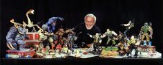 Behind the scenes of SMALL SOLDIERS - Rod puppet rehearsal at Stan WInston Studio with the Chip Hazard and Archer puppets. A Moment To Remember, In This Moment, Character Concept, Character Art, Small Soldiers, Jurassic World, Archer, Puppets, Behind The Scenes