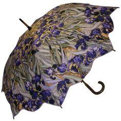 Full Size Van Gogh Irises Umbrella