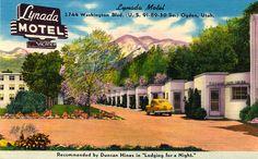 vintage tourist cabins | Lynada Motel, Ogden, UT.