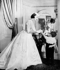 Mary Jane Russell, photo by Louise Dahl-Wolfe, Harper's Bazaar, April 1955 | flickr skorver1