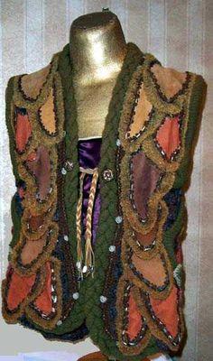 Jean Williams Cacicedo 2003 Petal Vest