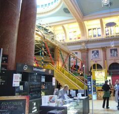 Royal Exchange Theatre, Manchester - 'Excellent access to this wonderful old building and great theatre in the round.'