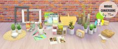 Mirake clutter conversions at MIO via Sims 4 Updates