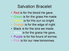 Salvation Bracelet: combine with the balloon bracelet.