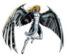 Marvel Avengers Alliance X-men Angel by ratatrampa87 on DeviantArt
