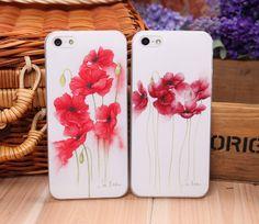 Funda flores para iphone 4 - 4s
