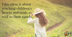 Classical education isn't just about intellect and knowledge. We also need to pay attention to the atmosphere surrounding the children to reach their hearts. Classical Education, Kindergarten Classroom, Education Quotes, Homeschooling, Best Quotes, Improve Yourself, Students, Posts, Teaching