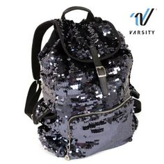Talk about a cute bag! Sequined backpack, yes please! Order your own today: http://shop.varsity.com/shop/collections/let-s-go-pink/sequin-back-pack_VSFP+SQBP13.html