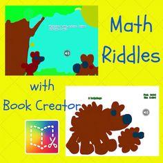 Book Creator App: Math Riddles & Video Export 21st Century Classroom, 21st Century Learning, Book Creator, The Creator, 1st Grade Books, Computer Lab Classroom, Simple Web Design, 8th Grade Math, Digital Storytelling