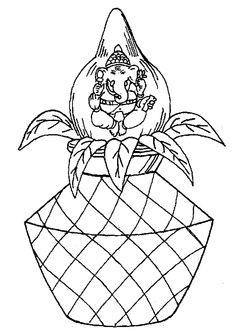Tamil Cliparts: Printing Line art - 3 ( Wedding and invitations ) Mandala Pattern, Mandala Art, Pattern Art, Art Drawings For Kids, Art Drawings Sketches, Drawing Ideas, Pencil Drawings, Dulhan Mehndi Designs, Wedding Mehndi Designs