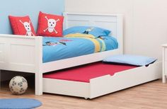 Classic Kids Trundle Bed white