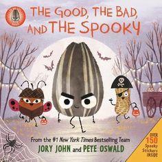 Based on the New York Times bestselling picture book sensation The Bad Seed, Jory John and Pete Oswald present: The Good, the Bad, and the Spooky! Includes two sticker sheets, perfect for decorating your own mini jack-o'-lantern. Halloween Books, Halloween Items, Halloween Kids, Book Club Books, New Books, Children's Books, The Bad Seed, Children's Picture Books, Favorite Holiday