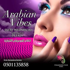 Feel the Arabian vibes at @chameleonclubdubai tonight! Guest DJ DJ Fadi is in the house spinning the hottest Arabic hits all night long  Reservation 971501135858 #party #fun #hot #dxb #dubai #mydubai #drinks #dubainight #nightlife #glamour #lifestyle #club #Halloween #Costume #2017 #uae #chameleonclubdubai #Dj #partytime #nightclub #tonight #sunday #monday #tuesday #thursday #friday #wednesday #music #dance #dubailife