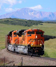 RailPictures.Net Photo: BNSF 48583 BNSF Railway EMD SD70ACe at Greenland, Colorado by Joe Blackwell