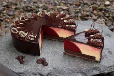 TORTEN LUST: {Rezept} Passionsfrucht-Mousse-Torte mit Himbergel...