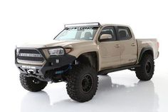 Bolt on of additional tire coverage per side for your Tacoma with these Off Road Fiberglass Fenders Price is for a pair Toyota Tacoma Trd, Tacoma 4x4, Tacoma Truck, Jeep Truck, 2016 Tacoma, Toyota Tundra, Toyota 4runner, Toyota Tacoma Off Road, Overland Tacoma