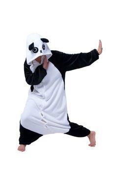 LIHAO Kung Fu Panda Onesie Pyjamas Schlafanzug unisex Erwachsene Nachtwäsche Anime Cosplay Halloween Kostüm Kleidung Tier -  http://www.amazon.de/dp/B00RLH1QSA