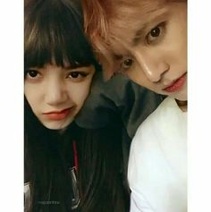 Kpop Couples, Cute Couples, Blackpink And Bts, Fake Love, Blackpink Lisa, Paper Hearts, Taekook, Kpop Girls, Photoshop