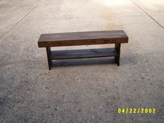 Bench Wooden Bench Coffee Table Dining Bench by wayneswoodworking