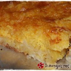 Greek Sweets, Greek Desserts, Sweet Cakes, Sweet Life, Lasagna, Sweet Recipes, Deserts, Food And Drink, Ethnic Recipes