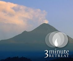 3 minutes of prayer = 24 hours of peace. #3MinuteRetreat