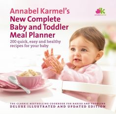 Complete Baby & Toddler Meal Planner. Can't wait to make Zeke's food!!
