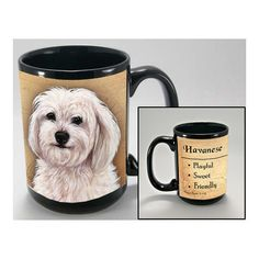 Faithful Friends Havanese Dog Breed Coffee Mug