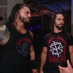 Roman's having two matches tonight! Ganesh Kumar, Wwe Roman Reigns, Dean Ambrose, Seth Rollins, Roman Empire, Sexy Men, Wrestling, Monday Raw, Guys
