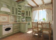 Classic Style Kitchen Furniture Timeless Furniture For Your Home Rustic Home Interiors, Provence Style, Kitchen Layout, Kitchen Ideas, Cuisines Design, Traditional Kitchen, Country Kitchen, Country Farmhouse, Kitchen Furniture