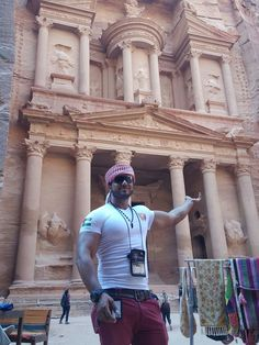 Meet Adnan - our super duper guide in Petra! :-) Join us also to a magical trip to the red-rose city. <3 - See more at: www.mantis-tours.com #MantisTours #TripAdvisor #PictureOfTheDay #Vacation #Travel #Tour #Tours #Trip #Trips #Israel #Eilat #Jordan #Petra #WadiRum #PetraTour