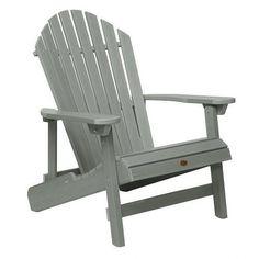 Highwood USA King Hamilton Folding U0026 Reclining Adirondack Chair