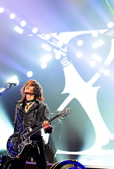 Sugizo. Love you all.  X Japan ♡