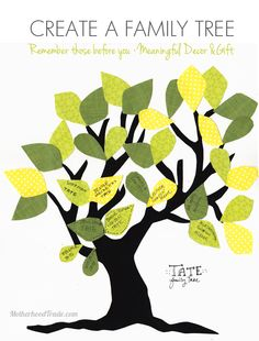 421 Best Family Tree Crafts Images On Pinterest Family Trees