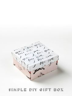Simple Diy Gift Box