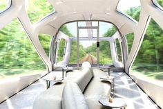 Viaje a bordo do comboio mais luxuoso do mundo