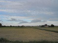 Nubi sui campi - Stagno Lombardo - Provincia di Cremona - Maggio 2013