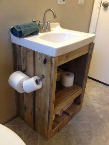 Diy Farmhouse Bathroom Vanity Shanty S Tutorials Bathroom Vanity