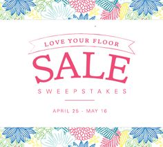 I just entered the @Mohawkflooring #LoveYourFloor Sale Sweepstakes for a chance to win cash prizes!