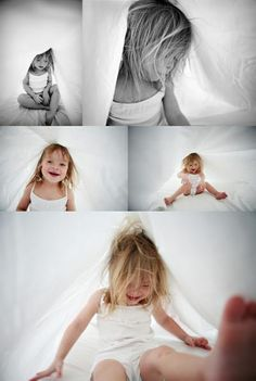Take pics of your kid playing in the sheets. Gonna do this for sure.