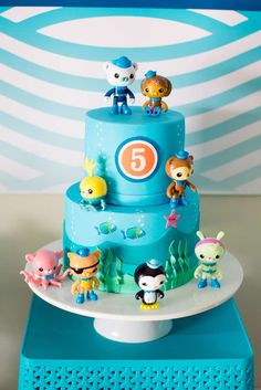 Octonauts Birthday Party Cake See More Ideas At CatchMyParty Third