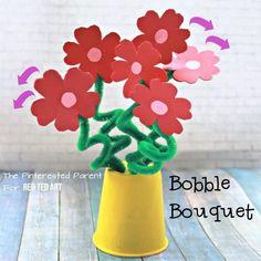 Flower Bouquet Craft
