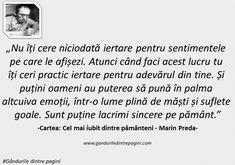 Cele mai frumoase citate ale lui Marin Preda   Gândurile dintre pagini Marines, Quotes, Quotations, Quote, Shut Up Quotes